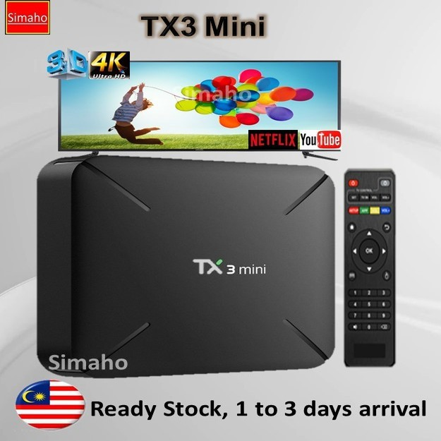 🔥Pre-installed live channels + Latest Apps🔥TX3 MINI 4K TVbox IPTV TV box  Android 7 1 Amlogic S905w