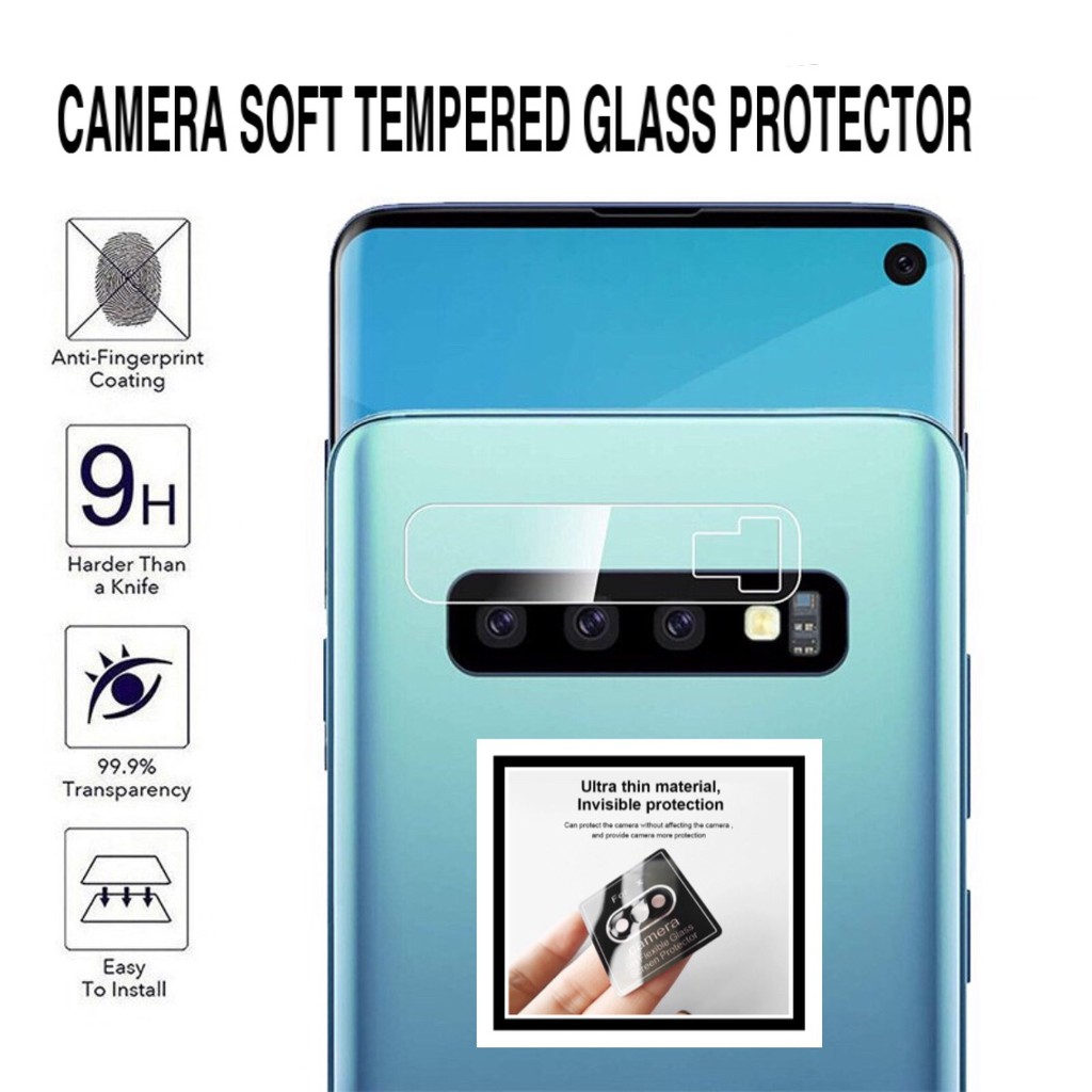 Huawei Mate 20 / Mate 20x / Mate 20 Pro Camera Soft Tempered Glass Protector