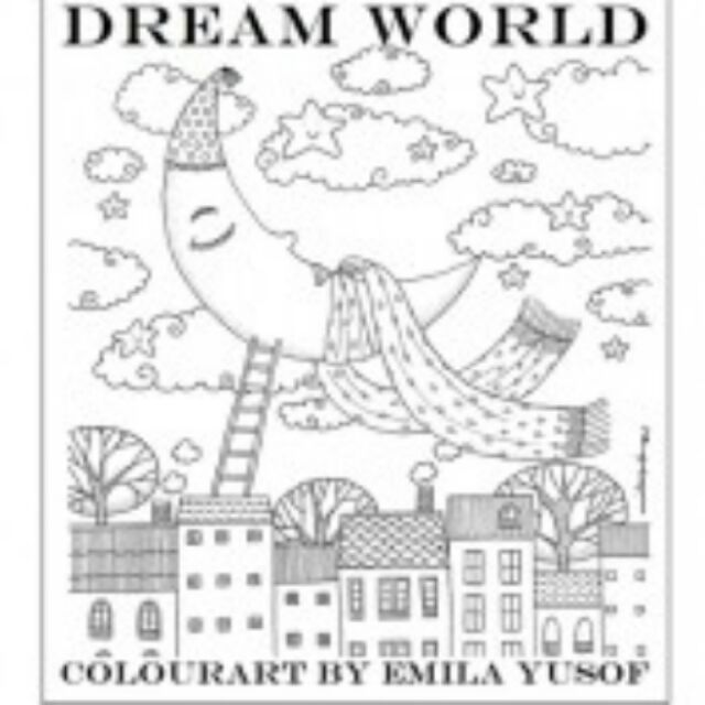 Colouring Book DREAM WORLD