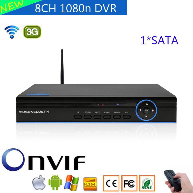8ch 1080n Hybrid 5 in 1 DVR 3G wifi 720P 960P for CCTV AHD IP Camera