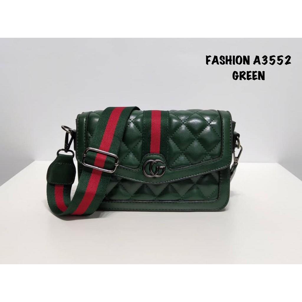 4b532f0ca70f Classic Elegant PU MCM Clutch Bag   Shopee Malaysia