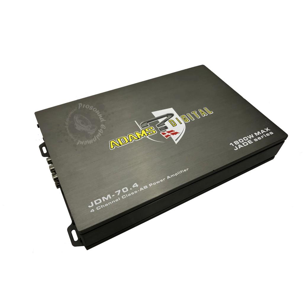 ADAMS DIGITAL JADE SERIES 4 CHANNEL CLASS-AB POWER AMPLIFIER (JDM-70 4)