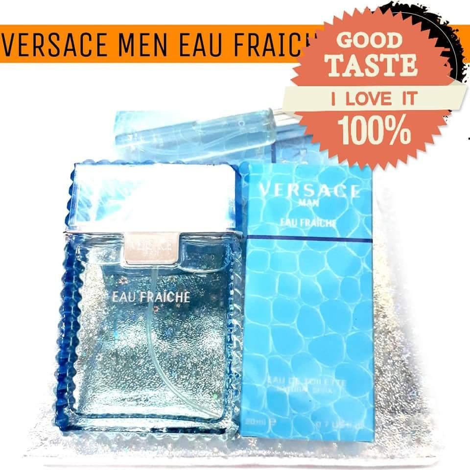 Man Eau Fraiche Edt Versace Gift Perfume Set Igvbf7Y6ym