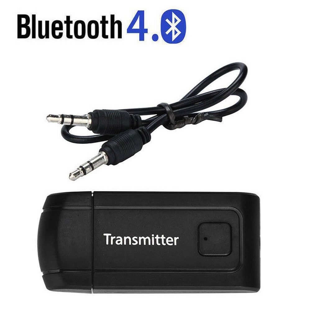Transmitter Bluetooth Wireless Audio RCA To 3.5mm Aux USB Adapter Hub DC 5V Part
