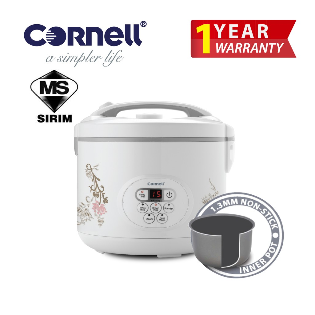 Cornell Digital Rice Cooker (1.2L) CRC-JP122D