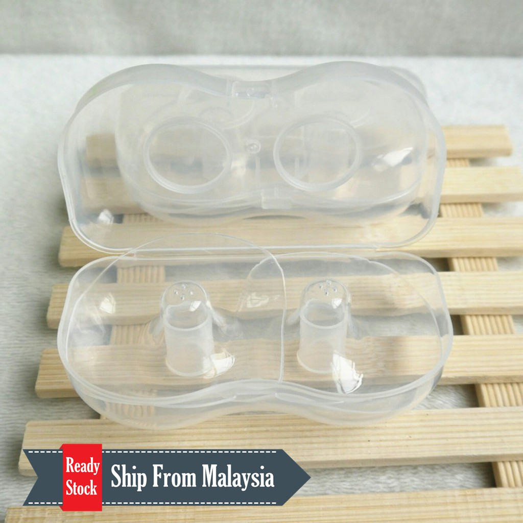 Pigeon Silicone Nipple For Cleft Lip And Palate Shopee Malaysia L 2pcs