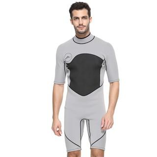 00d409755 Mens Diving Suit 2mm Neoprene Wetsuit Scuba Diving One Piece Rash Guard  Swimsuit