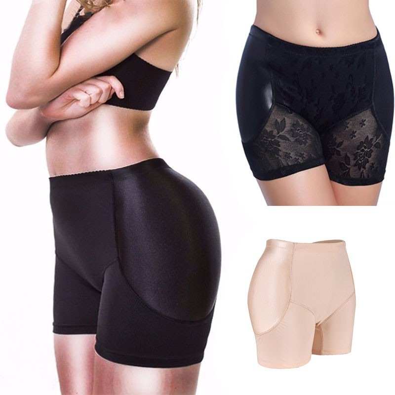 5a19b63abd62 Women Padded Butt Body Shaper Panty pants Lift Up Booty Hip Enhancer  Clothing | Shopee Malaysia