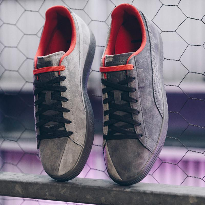 separation shoes 6c94f a255b Maopan Puma x Staple Clyde High Rise /Glacier Grey