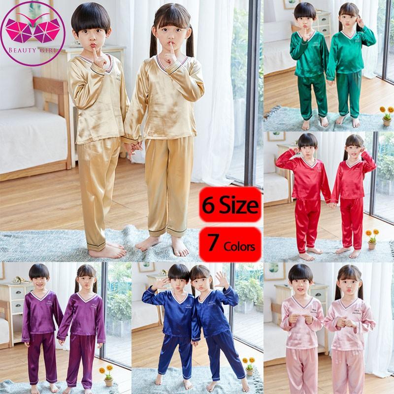 Toddler Boys Kids Cotton Pyjamas Set Nightwear Size 4-6 Years