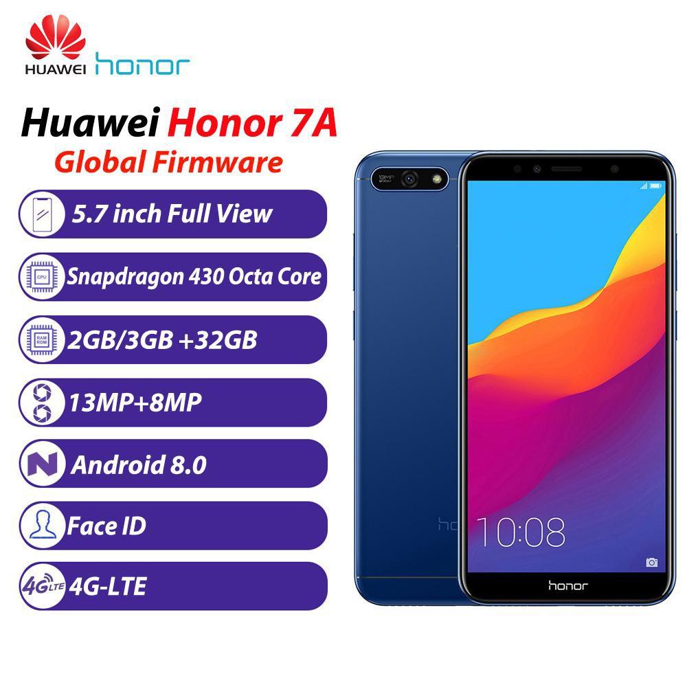 HONOR 7A 5.7 INCH 3GB RAM 32GB ROM SNAPDRAGON CPU 3000mAh Fingerprint 4G (READY STOCK)