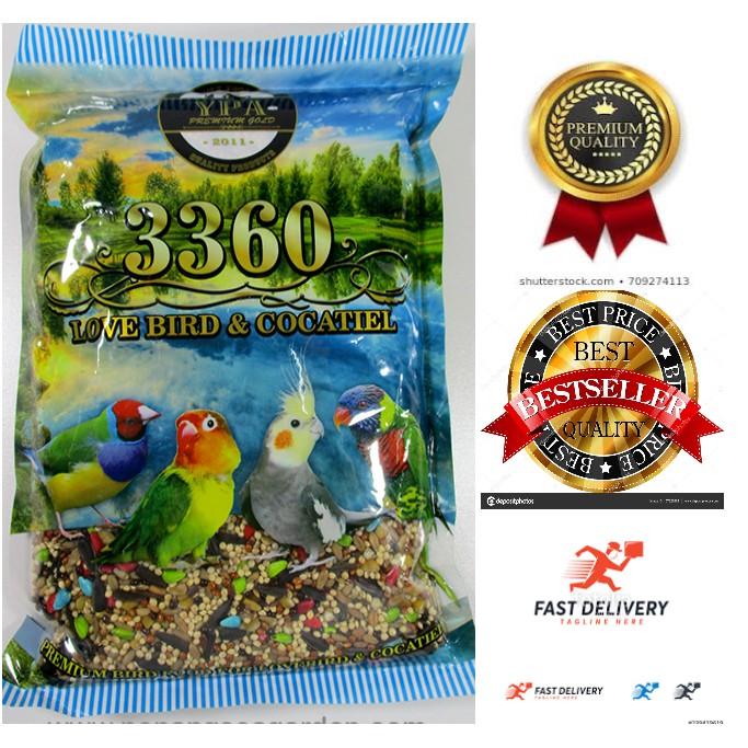 Ready Stock Makanan Burung Budgerigar Cockatiel 600g Shopee Malaysia