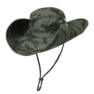 b21808308 Outdoor Camouflage Boonie Hat Wide Brim Breathable Hunting Fishing ...