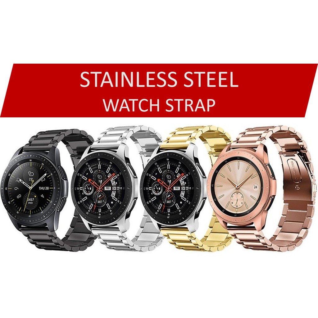 Amazfit GTR 20mm, 22mm/Huawei Watch GT/ Watch 2 Stainless Steel Strap 手表带 20MM, 22MM