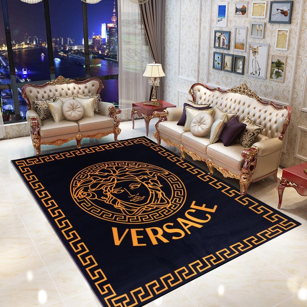 Versace Gucci Tatami Carpet Floor Mats Karpet Gebu Ready Stock