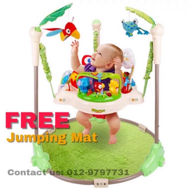 8f92b15ba6fc Rainforest Jumperoo Baby Jumper