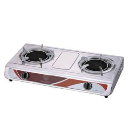 Butterfly BGC-882 Stainless Steel Infrared Double Gas Stove Cooker /Dapur Gas /煤气炉