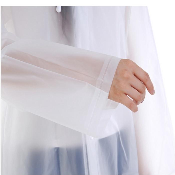 Adult Raincoat Eva Rain Raining Travel Waterproof Rainwear Coat