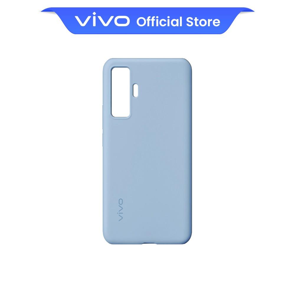 vivo X50 Comfy Case Original Back Casing (Ice Blue)