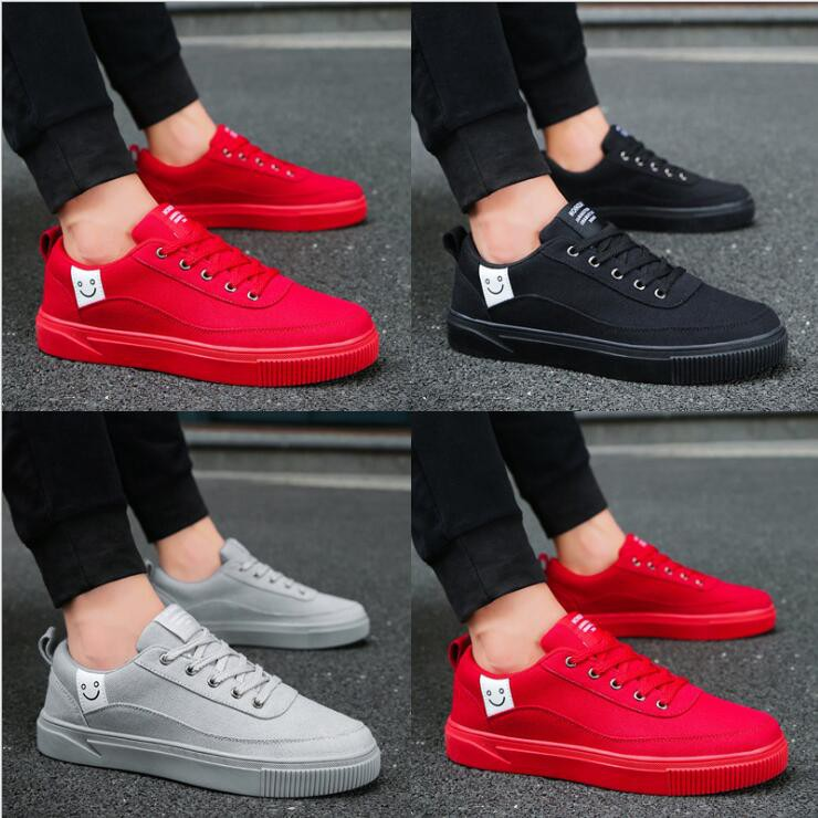d33ef9cd0e ⛳Ready Stock⛳Men Sneaker Low Top School Shoe Ladies Casual Canvas Flat Shoes