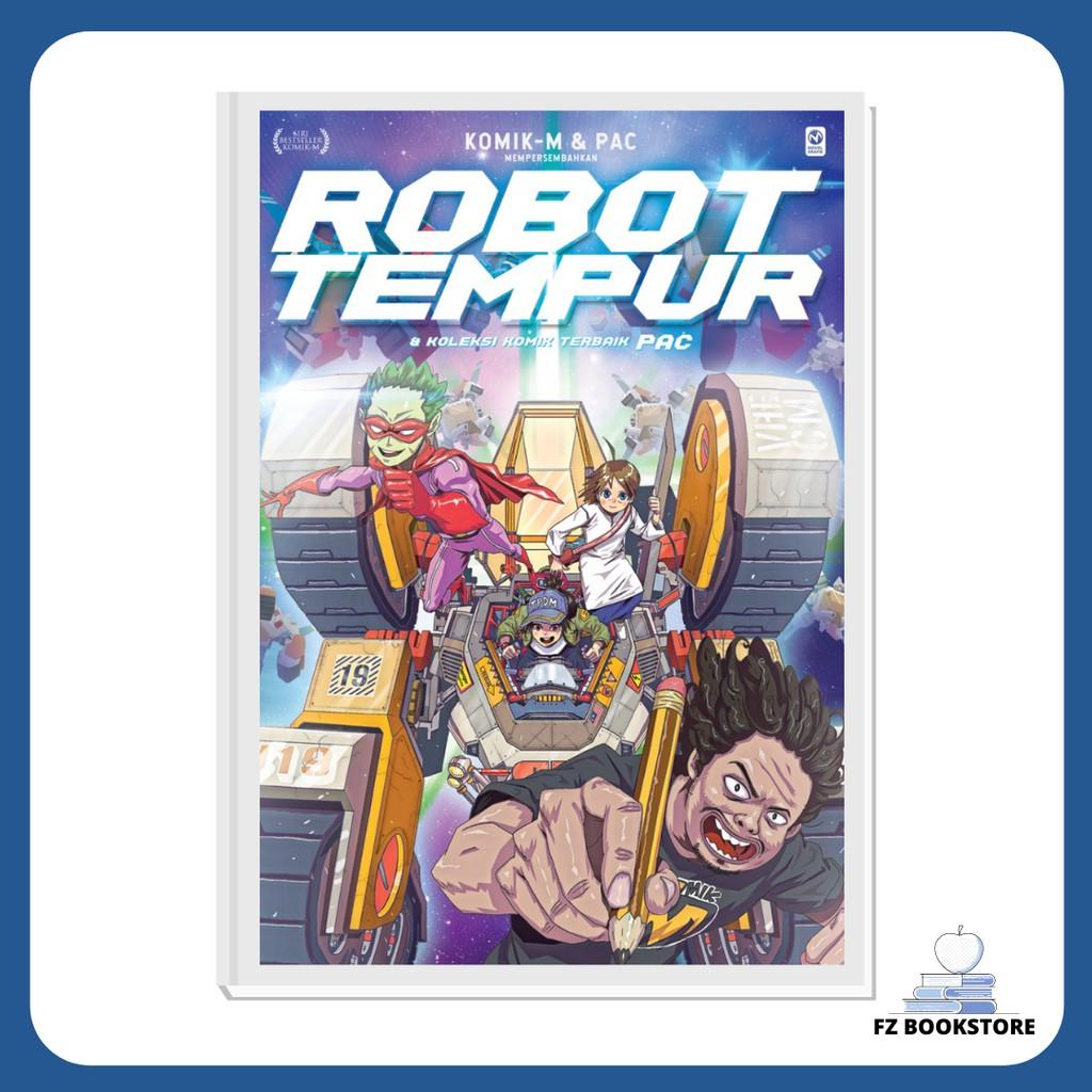 Robot Tempur & Koleksi Komik Terbaik PAC - Komik