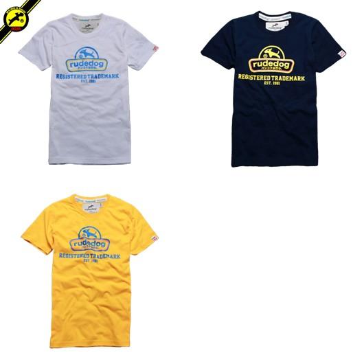 rudedog T-shirt เสื้อยืด รุ่น Curve รวมสี (LIMITED EDI