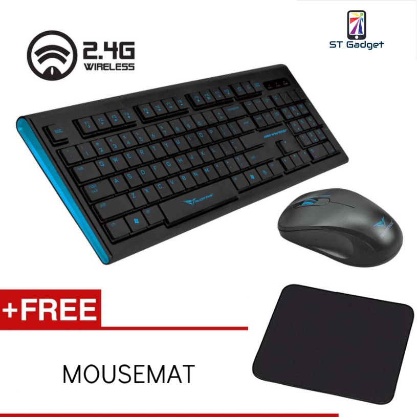 Xplorer Air 2200SL 2 4GHZ Wireless Keyboard And Mouse Combo By Alcatroz