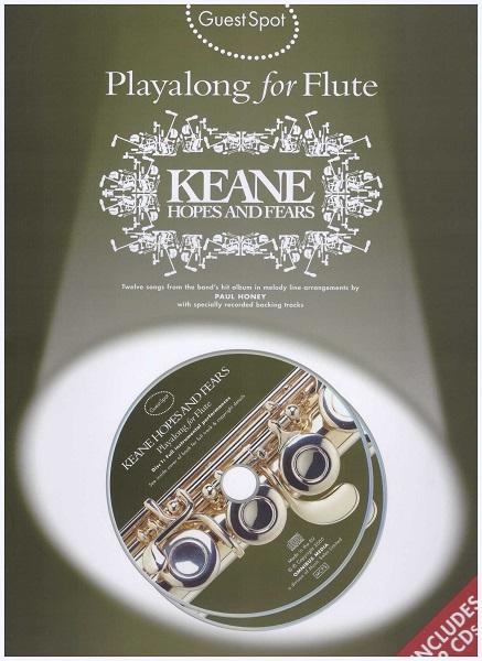 Playalong For Flute Keane Hopes & Fears