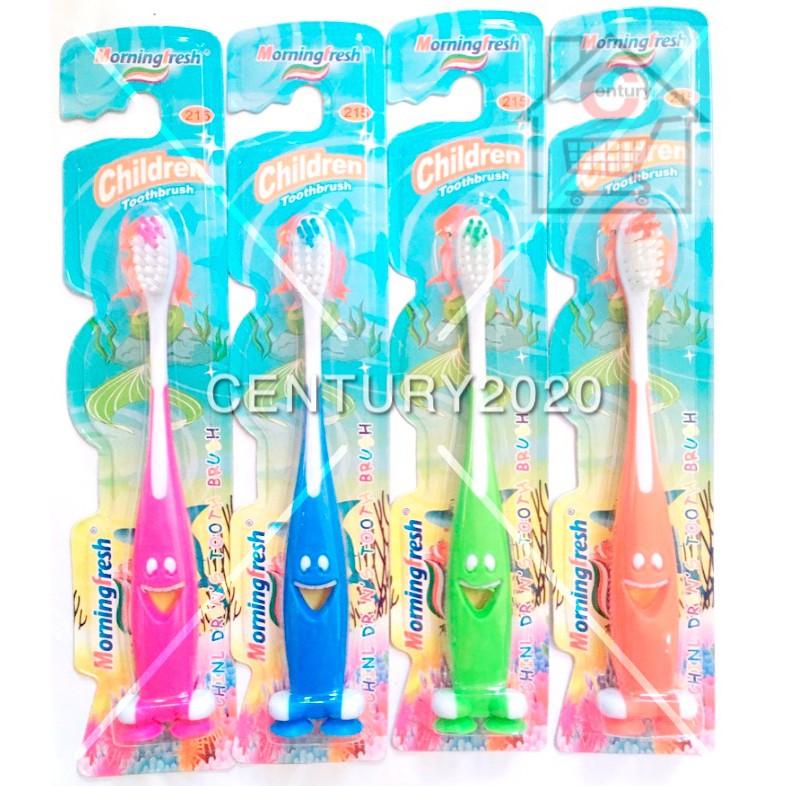 Morning Fresh Children Toothbrush Anti Bacterial Toothbrush Kids Toothbrush
