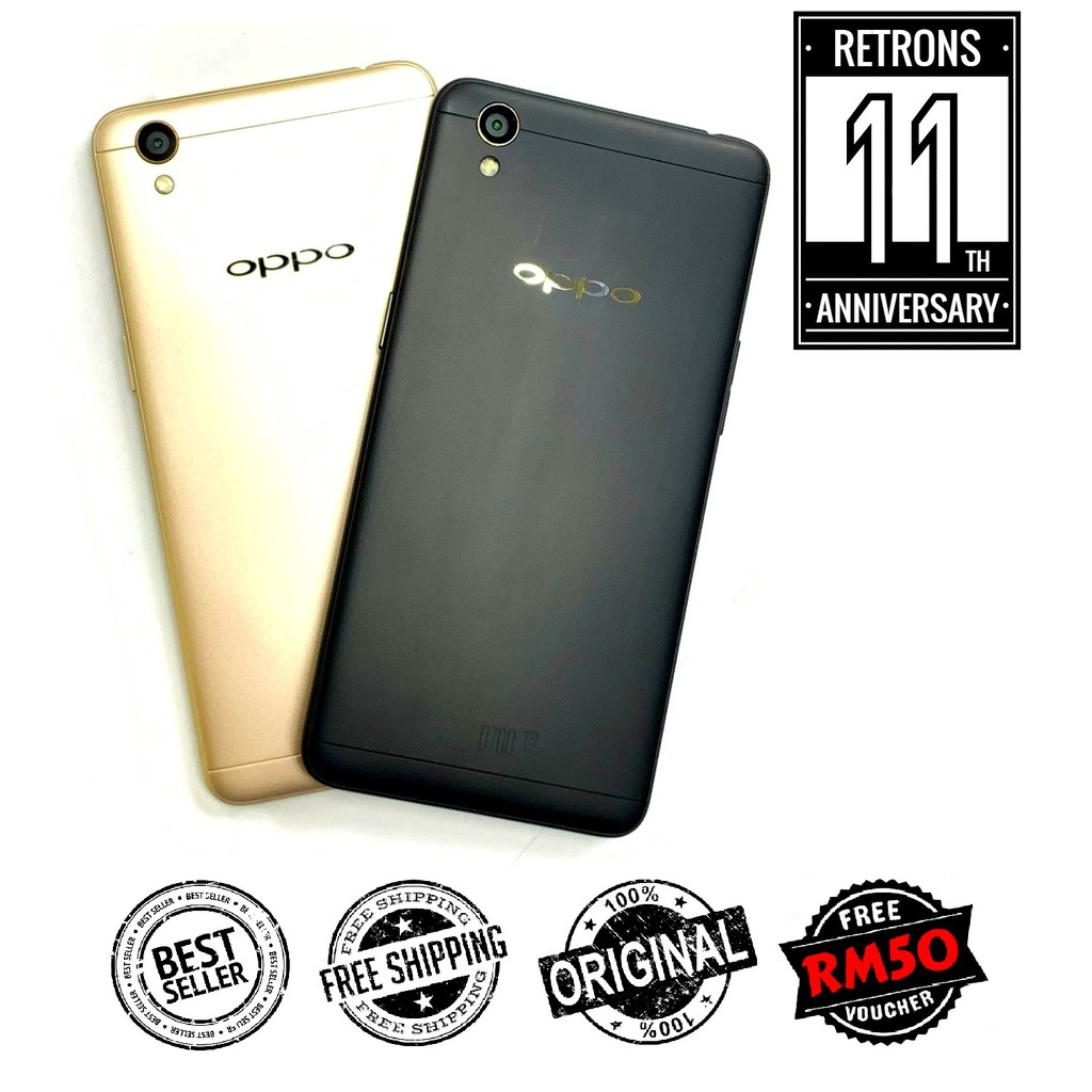🇲🇾 Original Oppo A37 16GB + 2GB RAM [1 Month Warranty] FREE Gift + RM50 Voucher [Refurbished]