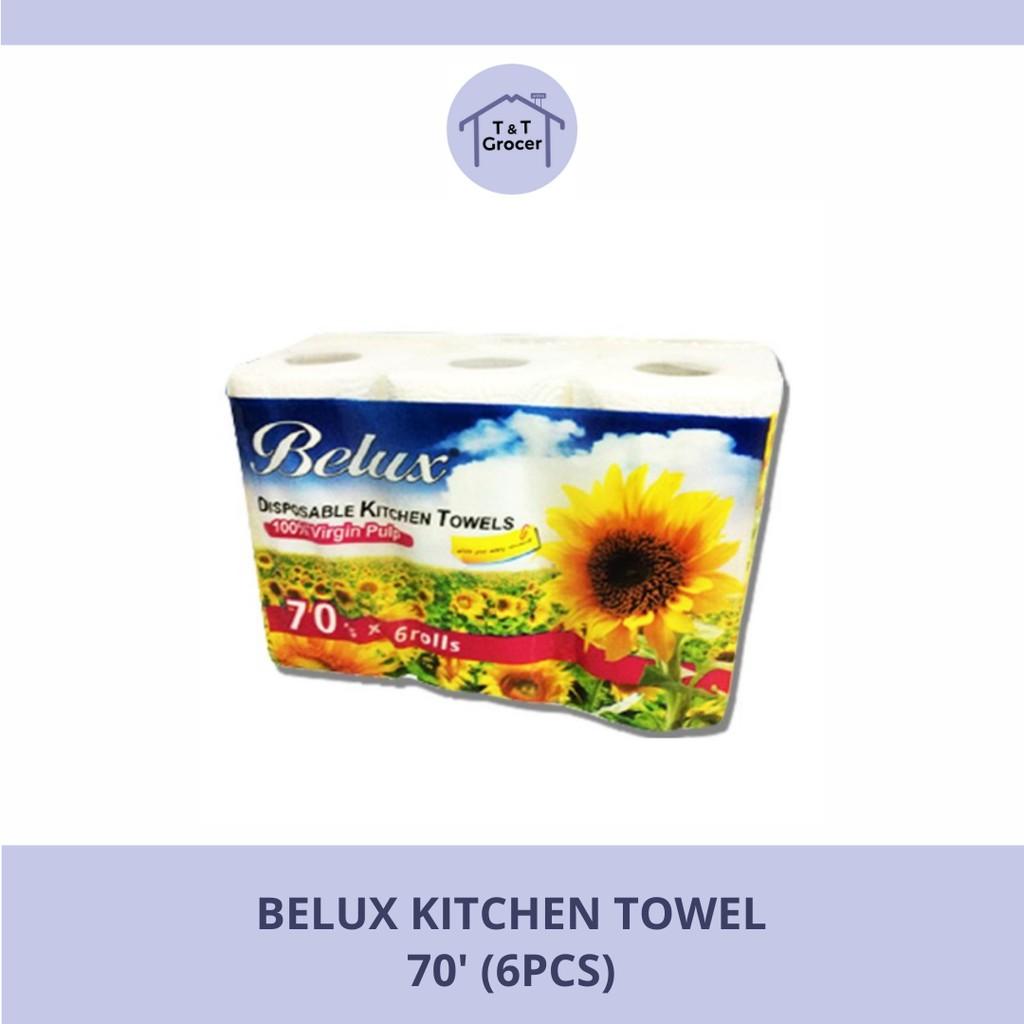 Belux Kitchen Towel 70'  6 Rolls