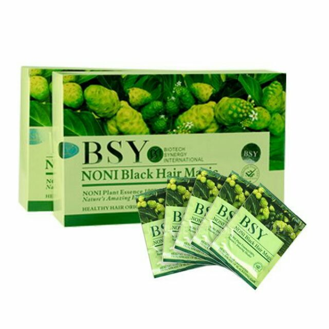 BSY Noni Black Hair Magic (1 X 20ml/sachet) 100% Original | Shopee Malaysia