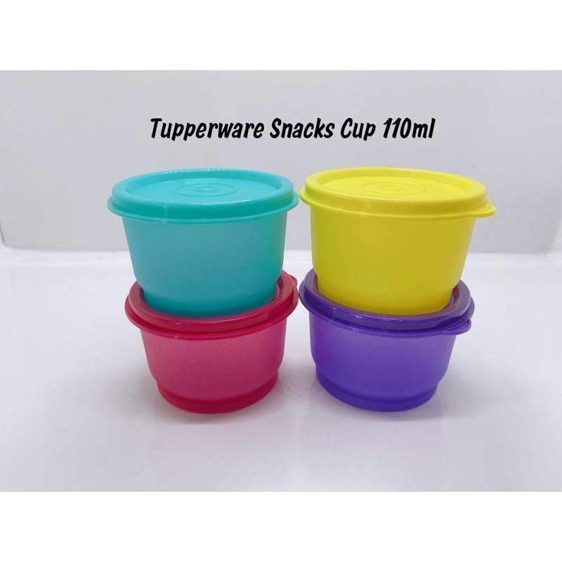 Tupperware Snack Cup 110ml (4pcs)