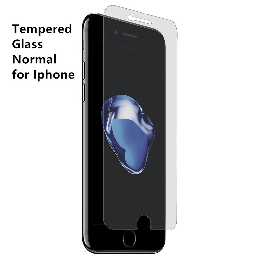 {Normal} Iphone 4 5 6 plus 7 8 7 plus 8 plus 11 12 mini pro max X XR Xs Max normal clear tempered glass