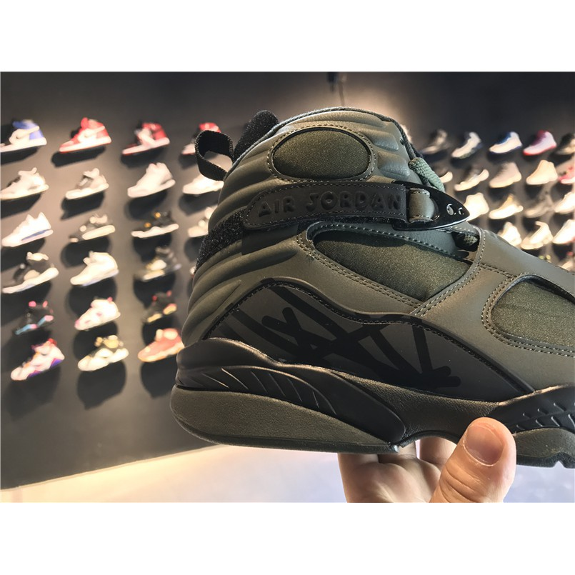 "super popular 788e3 44b39 Original Air Jordan 8 ""Take Flight"" aj8 AJ8 乔丹8代 乔8 乔丹8 Basketball men  shoes Army Green"