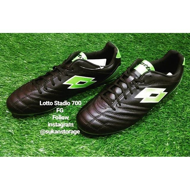 super popular c69ff 6cdf4 Lotto Stadio Black   Shopee Malaysia