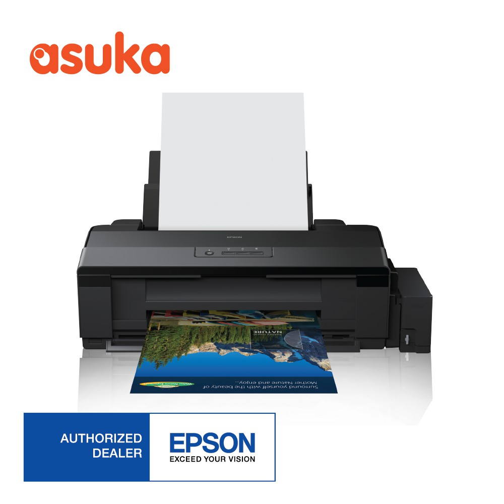 Epson L1800 A3 Photo Ink Tank Printer Comes With Original Inkset Yellow C13t03y400 For L6170 Shopee Malaysia