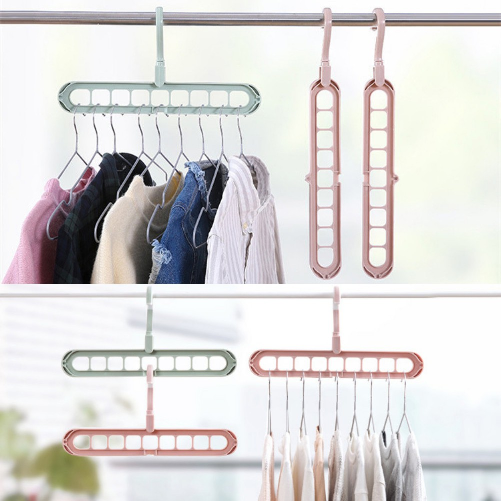 Robe Hooks Humorous Multi-port Support Drying Shoes Hook Clothes Drying Rack Multifunction Plastic Scarf Clothes Hangers Storage Racks