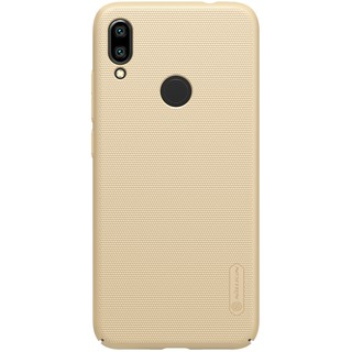NILLKIN Super Frosted Shield PC Mobile Phone Case for Xiaomi Redmi Note 7 / Note 7 Pro (India) - Gold