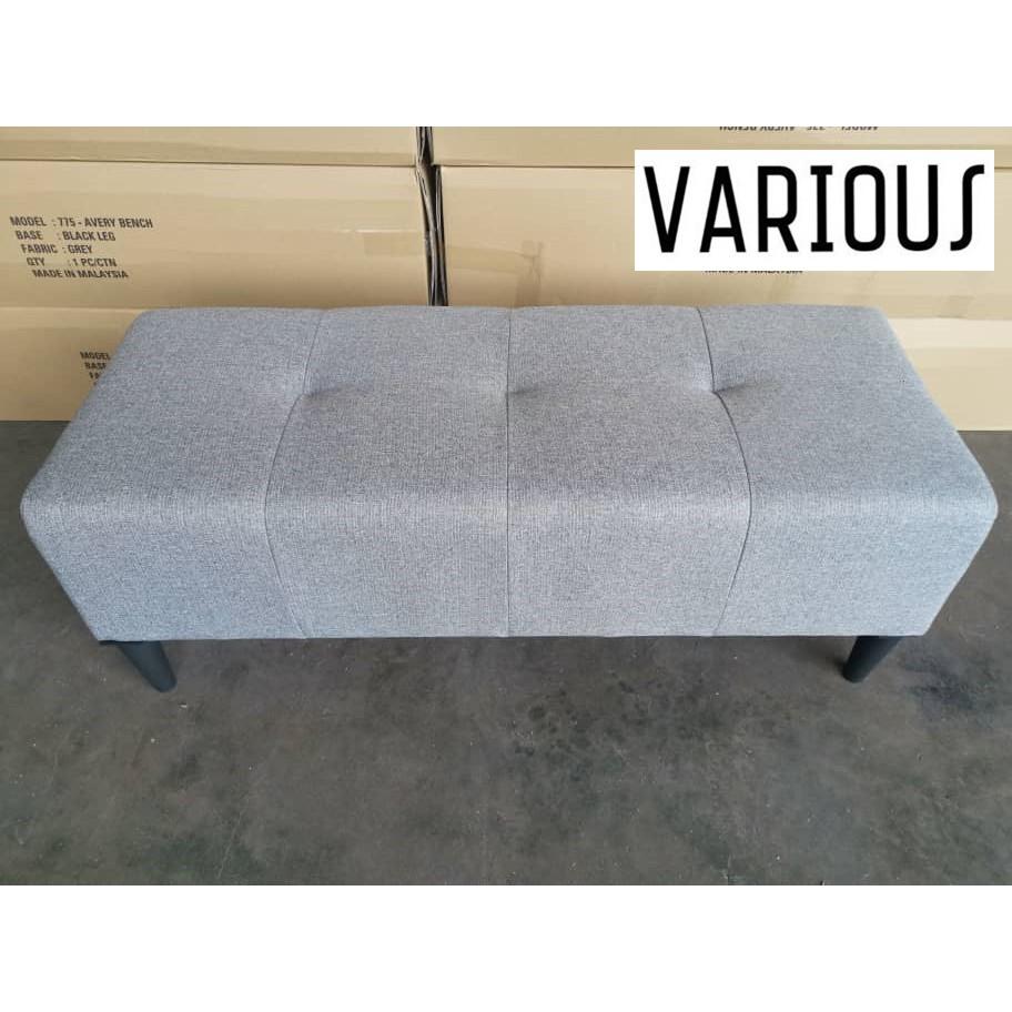 🔥READY STOCK🔥VARIOUS 4 Feet Long Stool Bench Chair Sofa Ottoman Kerusi Fabric Sofa Living Room Bedroom
