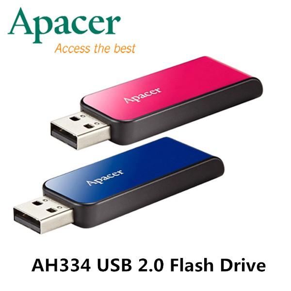 APACER 16GB 32GB 64GB USB2.0 Pendrive Pen Drive /Flash Drive / Thumb Drive AH334