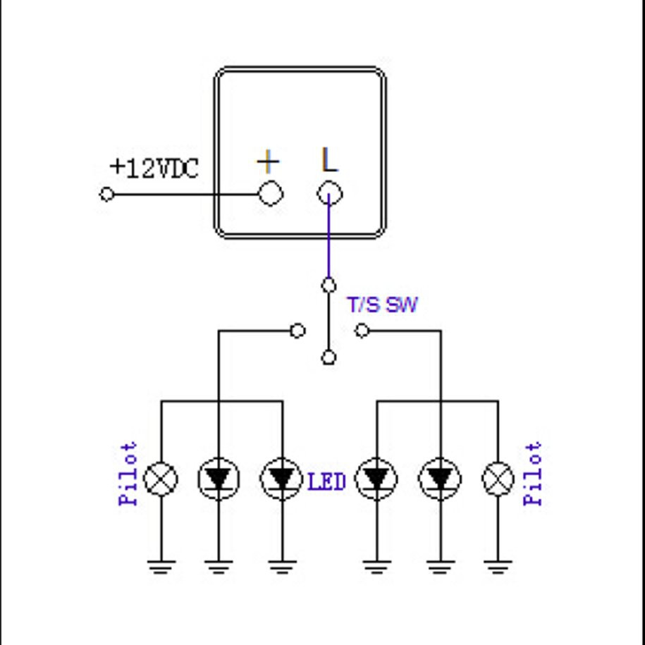 12v 2 Pin Motorcycle Electronic Led Flasher Relay 150w Led Turn Signal Bulbs Shopee Malaysia