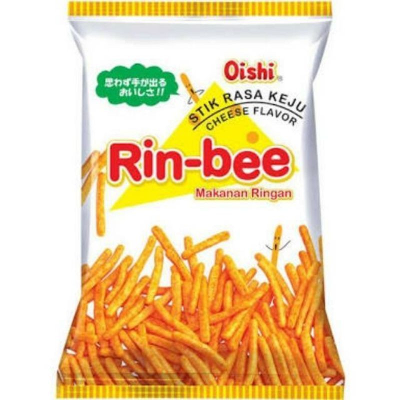 (READY STOCK)Oishi Rin-bee Makanan Ringan 65g (2 Flavor)