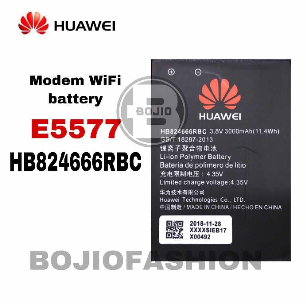 Import OEM Huawei Modem Battery E5577 HB824666RBC MiFi Huawei E5577s  E5785Lh-22c