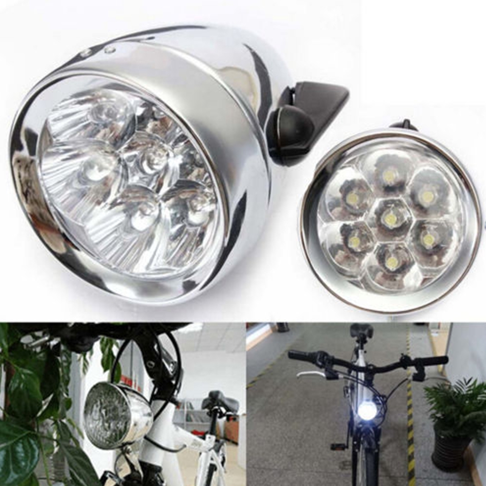 Bicycle Bike Fog Retro UV Headlight Durable Light Front Head Practical Accessory