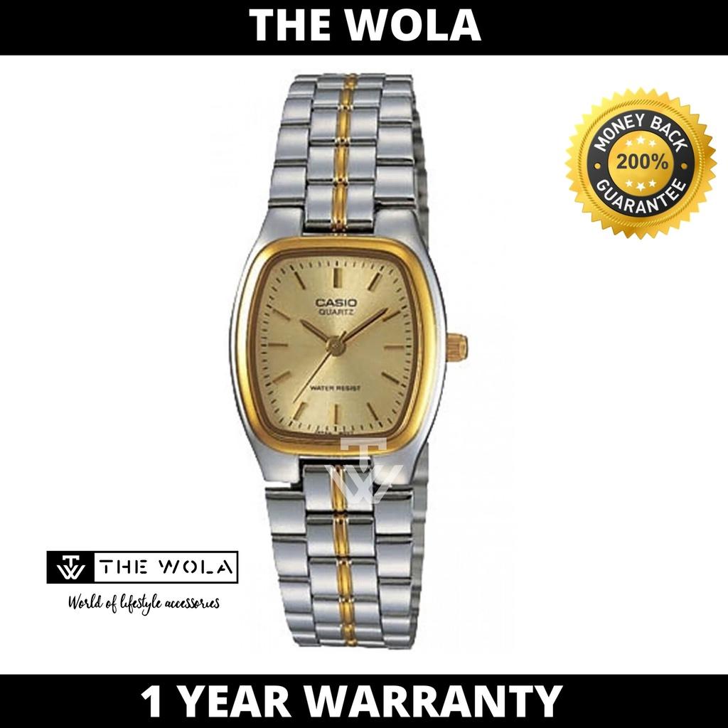 Casio Women's Analog Watch LTP-1169G-9ARDF Stainless Steel Band Gold Watch