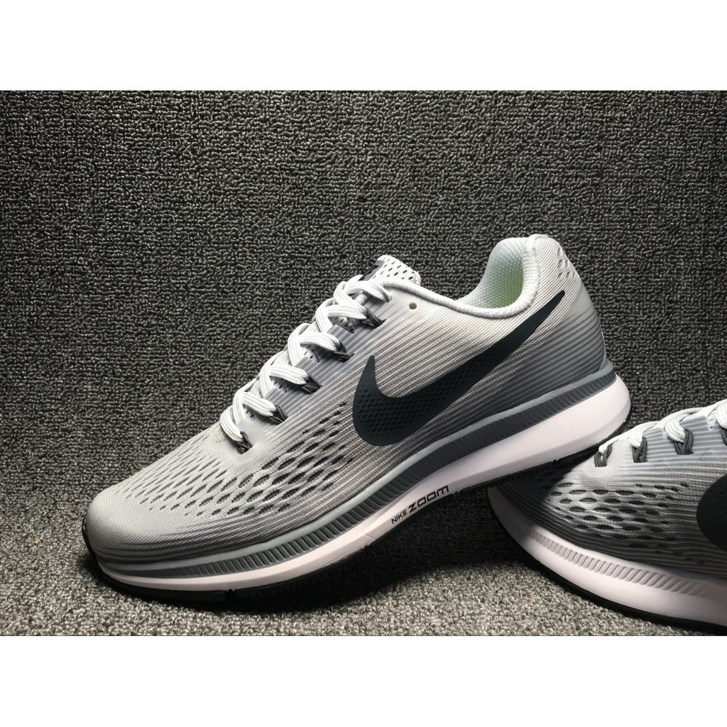 Mal uso En todo el mundo Tutor  nike air zoom pegasus 34 light grey color for men sport shoe running size  39-45 | Shopee Malaysia
