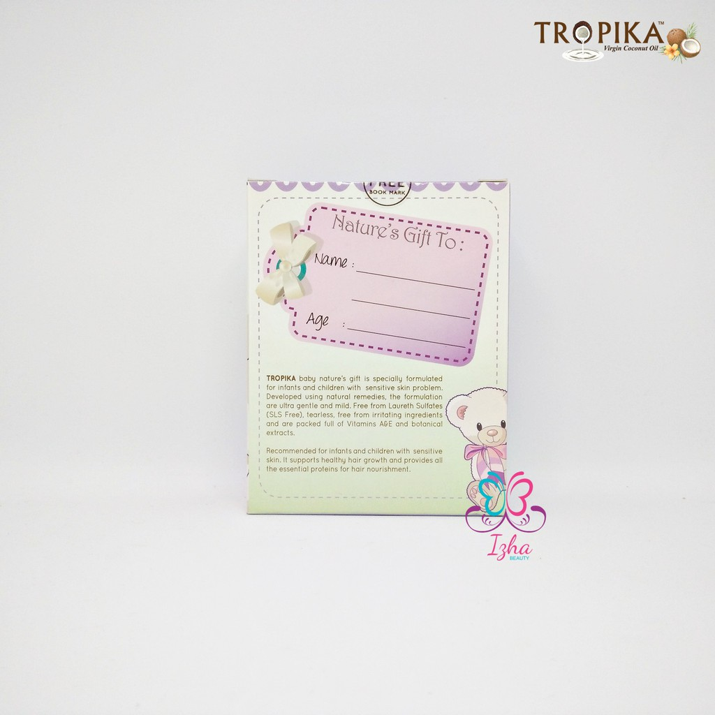 [TROPIKA BEAUTY] Baby Nature's Gift 2in1 (Lavender) - 100ml each