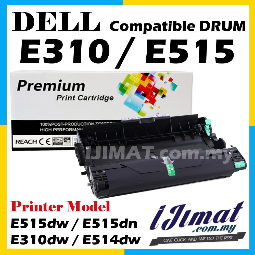 Dell E515 E310 E514 Compatible Drum E515dw / E515dn / E310dw / E514dw  Printer
