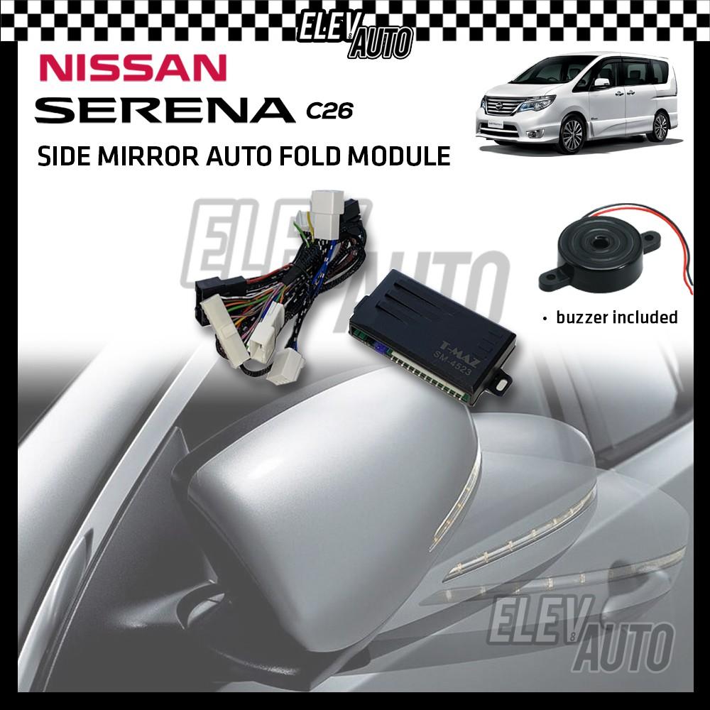 Side Mirror Auto Fold with Buzzer Nissan Serena C26 2013-2017